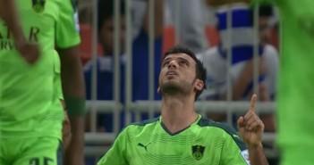 بالفيديو عمر السومة يقود الأهلي للفوز بلقب الدوري السعودي