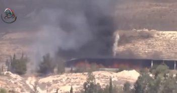 بالفيديو سلسلة إنفجارات تضرب مقرات الفرقة الرابعة