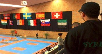 منتخب سوري الحر للكاراتيه يشارك بمعسكر تدريبي مع هولندا