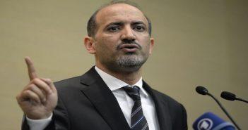 الجربا يطالب بحل سياسي في سوريا بإشراف عربي