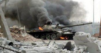 تدمير 24 آلية لقوات الأسد و14 نقطة جديدة بتقدم للثوار خلال المعركة الأخيرة بريف حماة