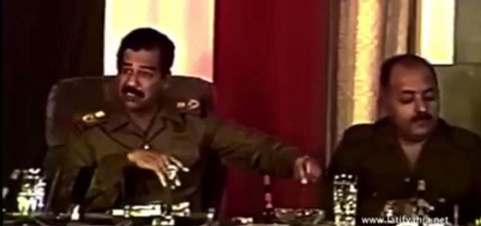 """فيصل القاسم يستشهد بفيديو لـ""""صدام حسين"""": كشف إيران قبل ربع قرن"""