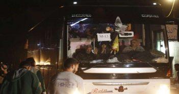 التهجير القسري.. وصول آخر دفعة من معضمية الشام إلى إدلب