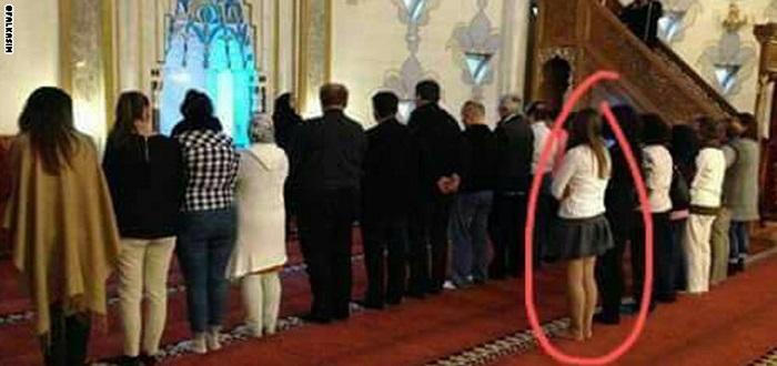 نتيجة بحث الصور عن مساجد مختلطة في الصلاة