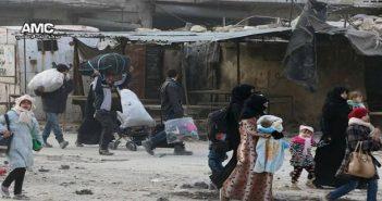 مجزرة مروعة بحصيلة أولية 45 شهيدا جراء قصف مدفعي استهدف نازحين في حلب