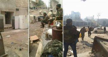 """بالصور: من جديد.. قوات الأسد ومرتزقته """"عفّشت"""" حلب والمؤيدون """"غاضبون"""""""