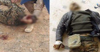 """بالصور.. تنظيم الدولة يقتل أمريكيين يقاتلون بجانب """"قسد"""" بريف الرقة"""