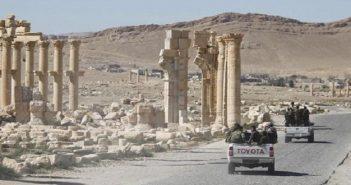 تنظيم الدولة يسيطر على تدمر بعد انسحاب قوات الأسد منها بشكل كامل