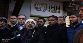 قافلة متطوعين أتراك تنطلق من إزمير إلى الحدود السورية لدعم حلب