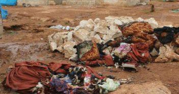 الحرائق تقتل طفلتين وأمهما داخل مخيم بريف حلب الشمالي