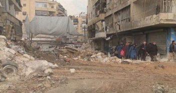 الميليشيات الشيعية تلاحق المدنيين الفارين من القصف في وادي بردى وترتكب مجزرة