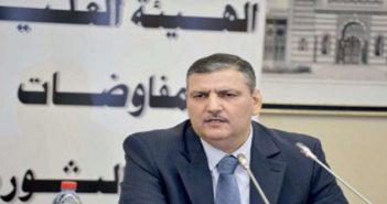 الهيئة العليا للمفاوضات تعلن دعمها للوفد العسكري في مباحثات أستانة