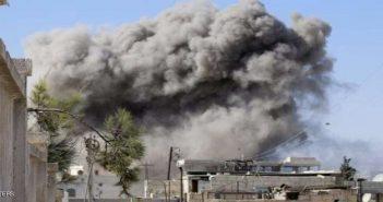 طائرات التحالف الدولي ترتكب مجزرة راح ضحيتها العشرات في دير الزور