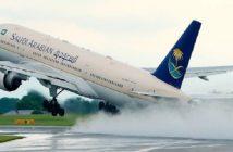 طائرة سعودية لا تستطيع الهبوط في مطار الطائف.. واستنفار في المدينة