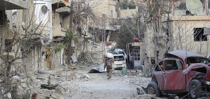 فيديو: قوات الأسد وحزب الله يشنّان الهجوم الأعنف على وادي بردى