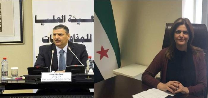 بلاء المعارضة السورية بين رياض حجاب وسميرة المسالمة