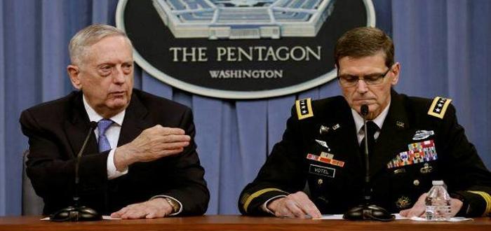 """البنتاغون يوضح ما أسماه بـ""""اللغط"""": لن ننشئ جيشا أو حرس حدود في سوريا"""