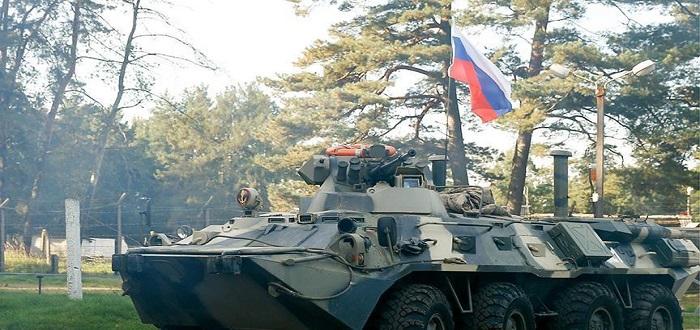 القوات الروسية تبدأ بالانسحاب من عفرين بريف حلب شمالي سوريا