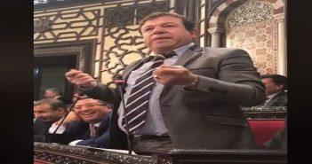 """بالفيديو: عضو في مجلس الشعب يطالب بتطبيق سياسة """"التطبيل والتزمير""""!"""