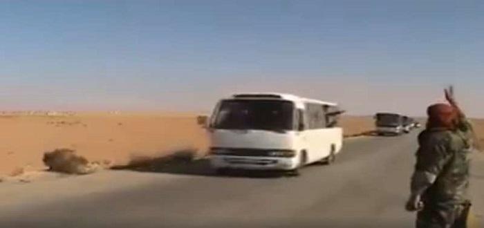 بالفيديو: نظام الأسد يسحب ميليشياته من دير الزور باتجاه الغوطة الشرقية