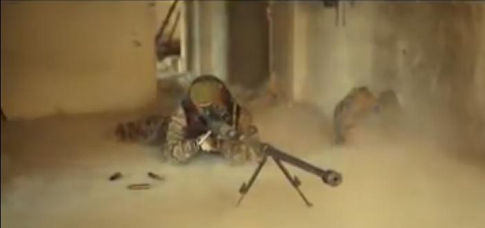 """فيلق الرحمن ينشر فيديو بسمى """"الظهور الأخير"""" لعمليات قنص ميليشيات الأسد"""