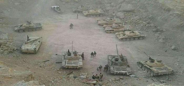بالصور: السلاح الذي سلمته فصائل القلمون لنظام الأسد كان كافيًا لفتح جبهات