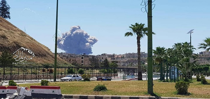 بعد انفجارات المطار العسكري.. 40 جثة تصل مشفى حماة