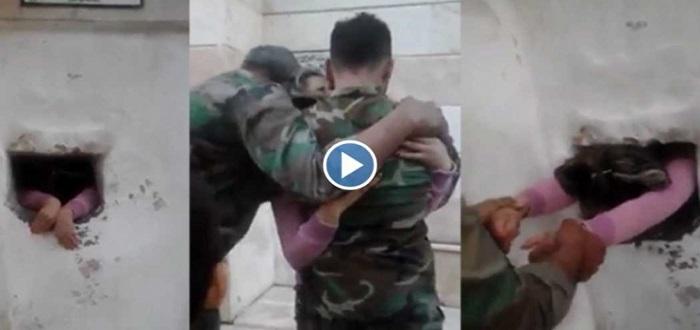 بالفيديو: شاهد طقوس غريبة يمارسها شبيحة الأسد مع امرأة لتبرئتها من الخيانة!