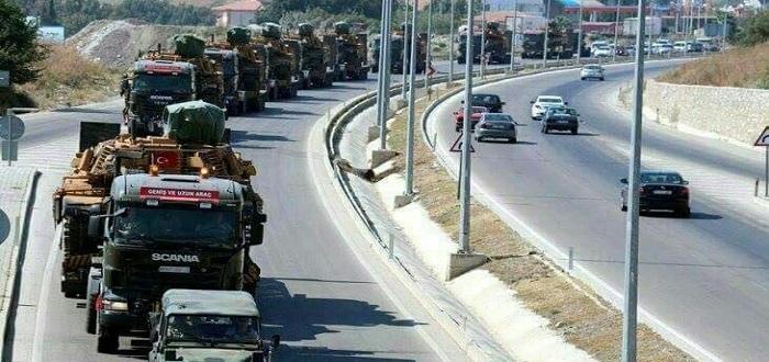 هيئة تحرير الشام تحل مجالسها بريف حماة ودبابات تركية مطوّرة عند الحدود مع إدلب
