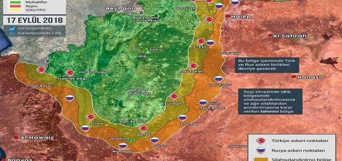 تفاصيل الاتفاق بين بوتين وأردوغان بشأن محافظة إدلب