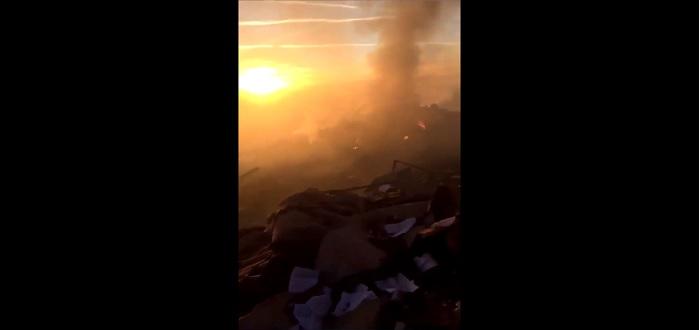 بالفيديو: انفجار ضخم بموقع عسكري تركي ووقوع ضحايا بصفوف الجنود