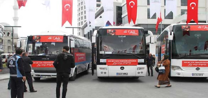 مسؤول تركي يكشف عن عدد السوريين باسطنبول المقدمين للعودة الطوعية النهائية إلى سوريا