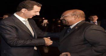"""كأول رئيس عربي: عمر البشير يزور بشار الأسد في دمشق..""""الطيور على أشكالها تقع"""""""