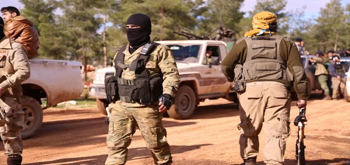 الفصائل المقاتلة تعلن سيطرتها الكاملة على كفرنبودة بريف حماة