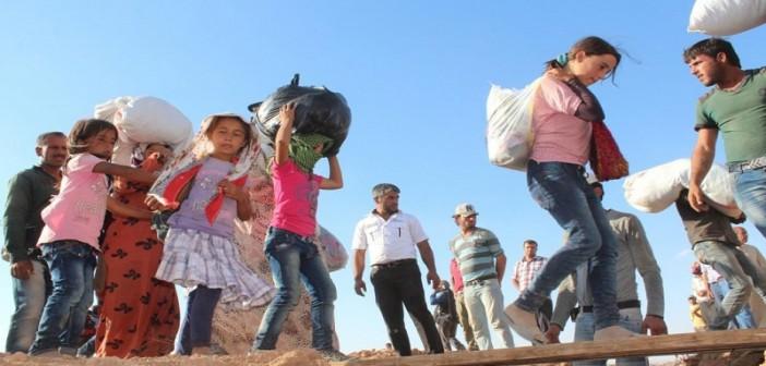 الحكومة التركية تنشئ أكبر مخيم لنازحي عين العرب في حلب