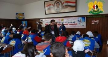 قال إبراهيم ماسو، مدير التربية التابعة للنظام في محافظة حلب، إن المديرية اتفقت مع منظمة اليونسيف على إنجاز 100 غرفة صفية بكلفة 100 مليون ليرة.