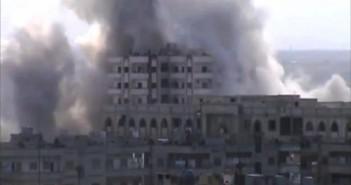 هيومن رايتس ووتش تتهم النظام بالقتل العشوائي في الوعر