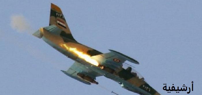 إصابة طائرة حربية ثانية لقوات الأسد في أقل من 24 ساعة غربي حماة