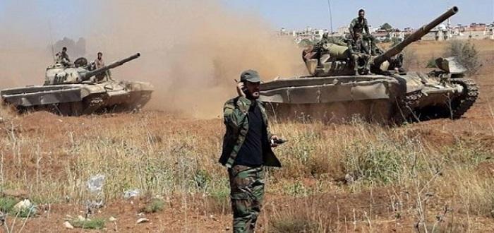 سقوط قتلى لقوات الأسد بريفي حماة وإدلب بينهم 4 ضباط (صور)