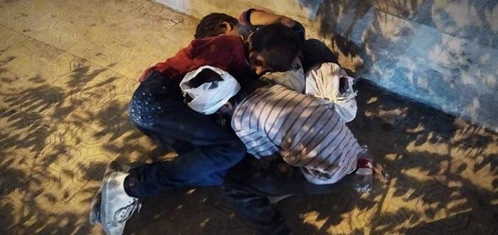 (صور) تضاعف حالات تشرد الأطفال بمناطق سيطرة نظام الأسد في حلب
